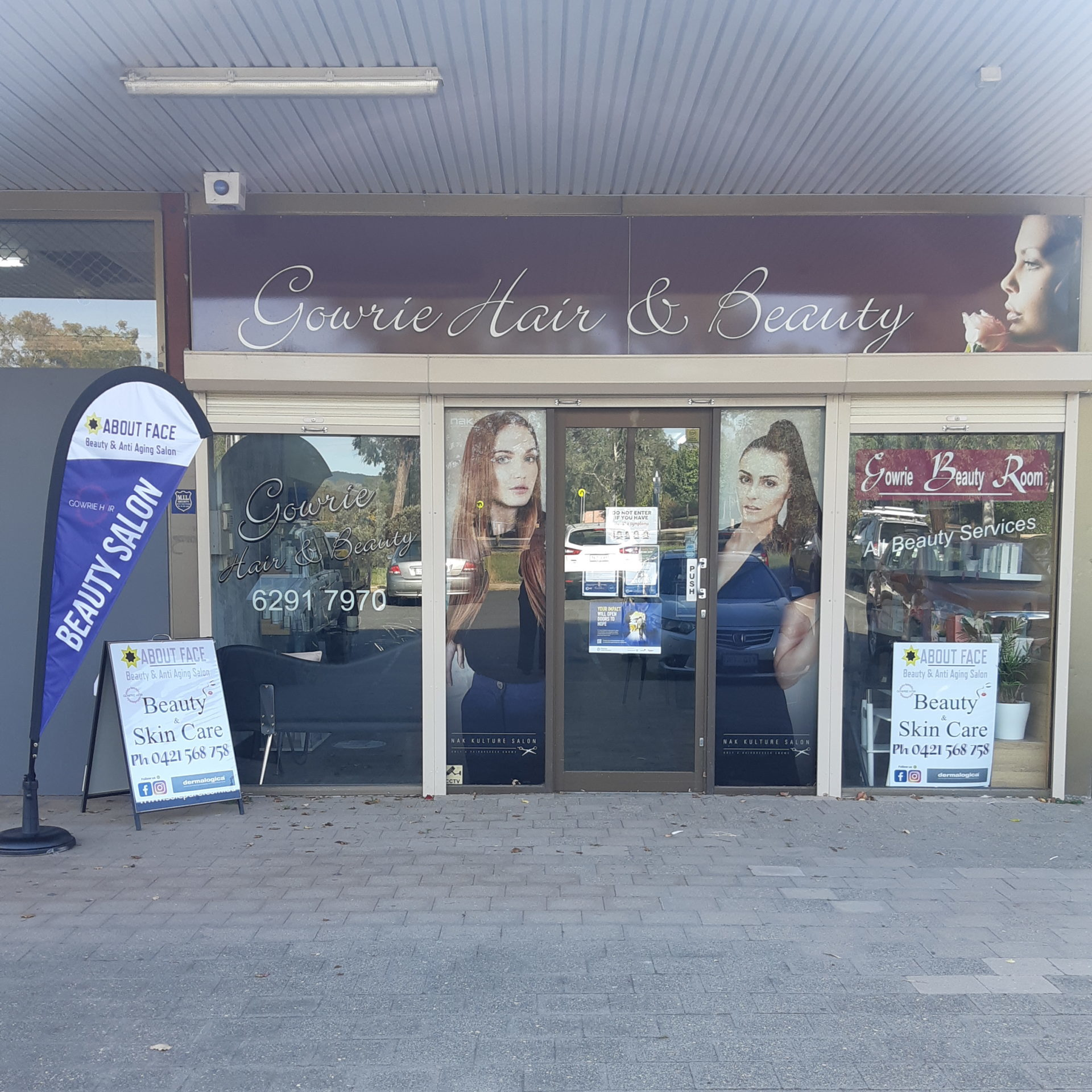 About Face Beauty Gowrie